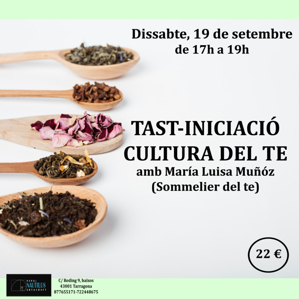 TAST-INICIACIÓ CULTURA DEL TE