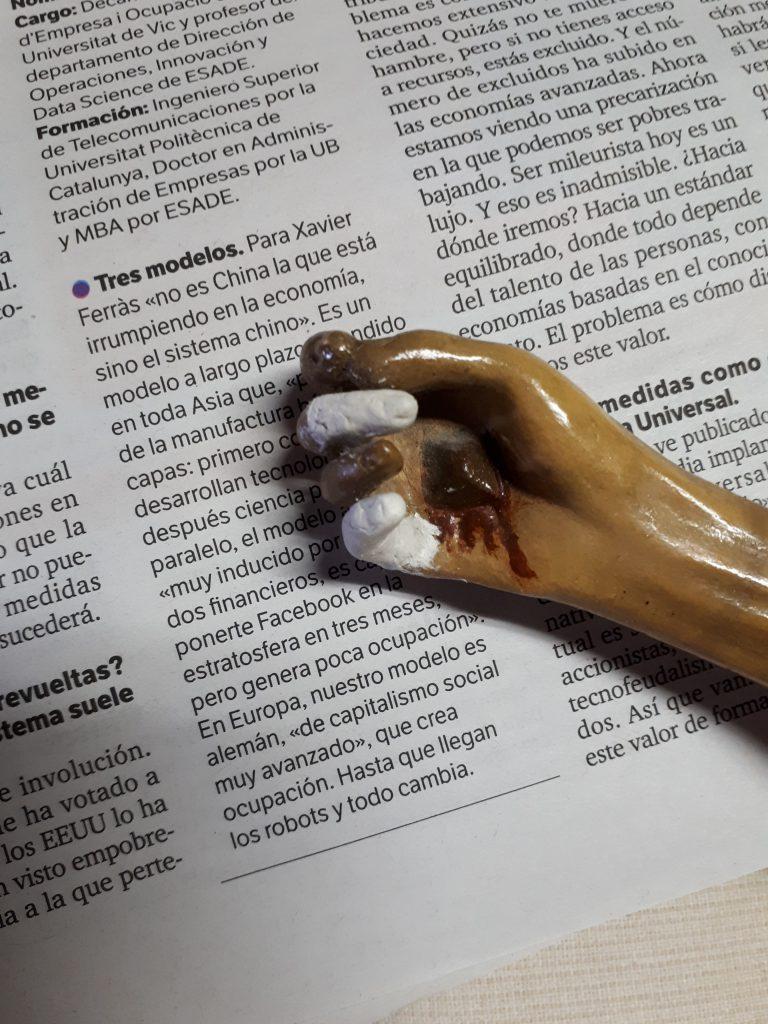 restauració de dits Sant Crist