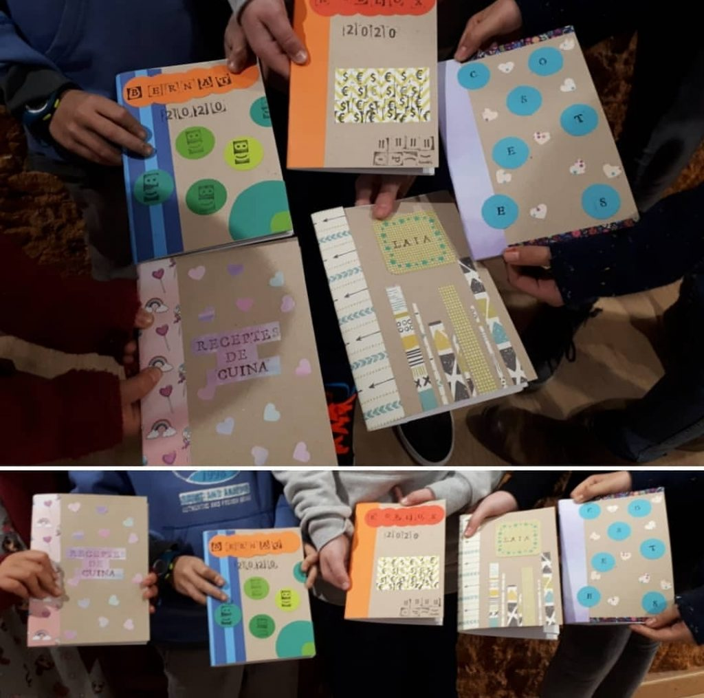 taller de fabricació i decoració de llibretes