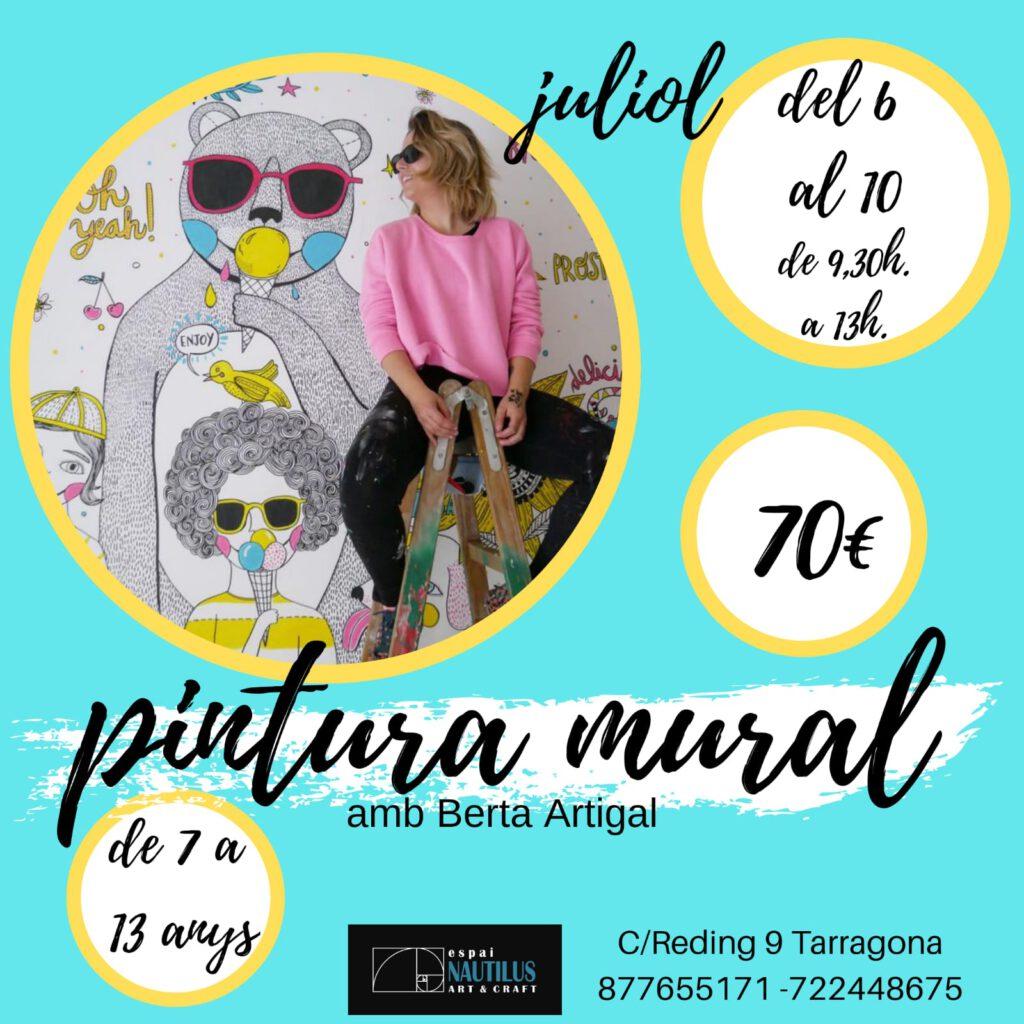 TALLER INFANTIL DE PINTURA MURAL