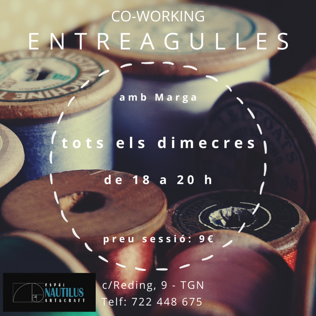 """TALLER COWORKING """"ENTREAGULLES"""""""