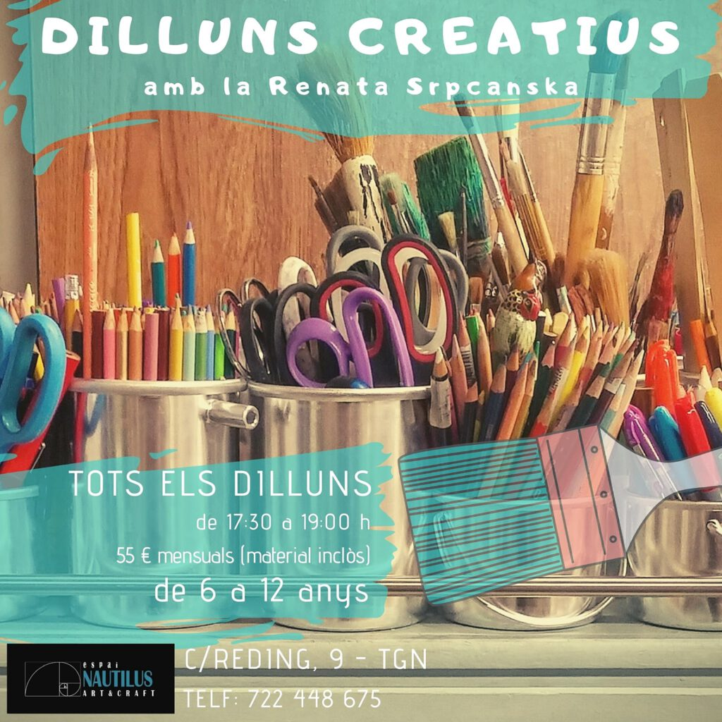 "TALLER ""DILLUNS CREATIUS"""