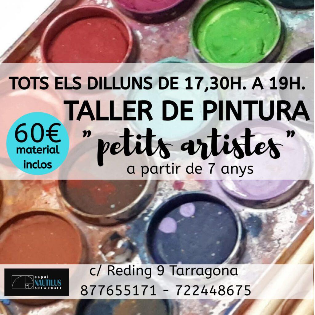 "TALLER DE PINTURA ""PETITS ARTISTES"""