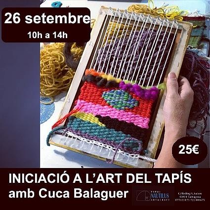 TALLER D'INICIACIO A L'ART DEL TAPIS