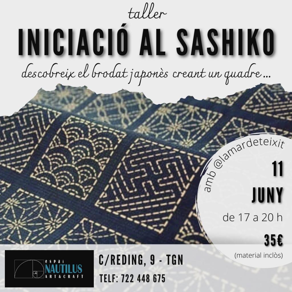 TALLER D'INICIACIÓ AL SASHIKO