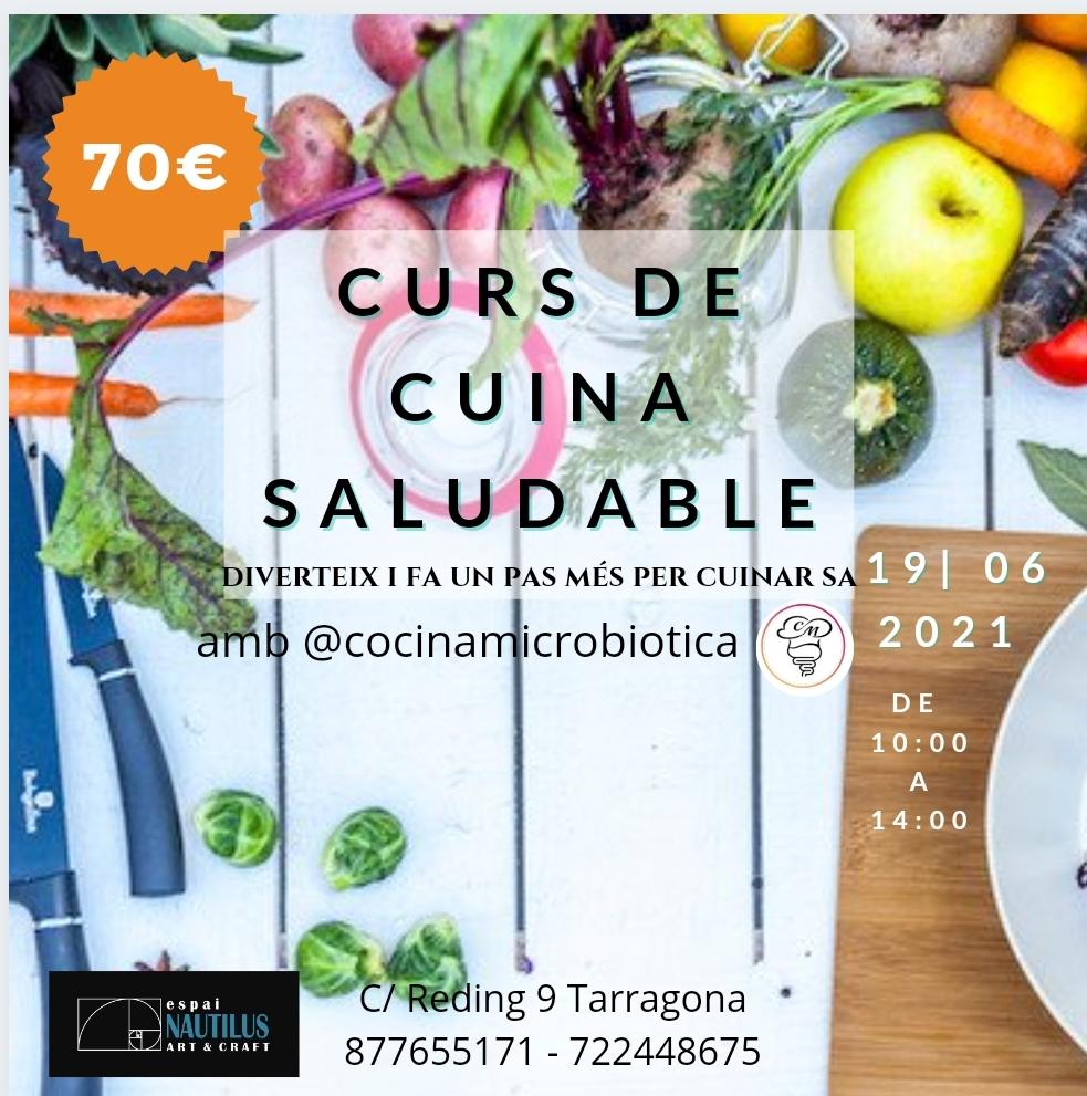 CURS DE CUINA SALUDABLE