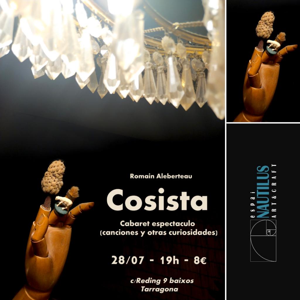 """""""COSISTA"""" CABARET-ESPECTACLE"""