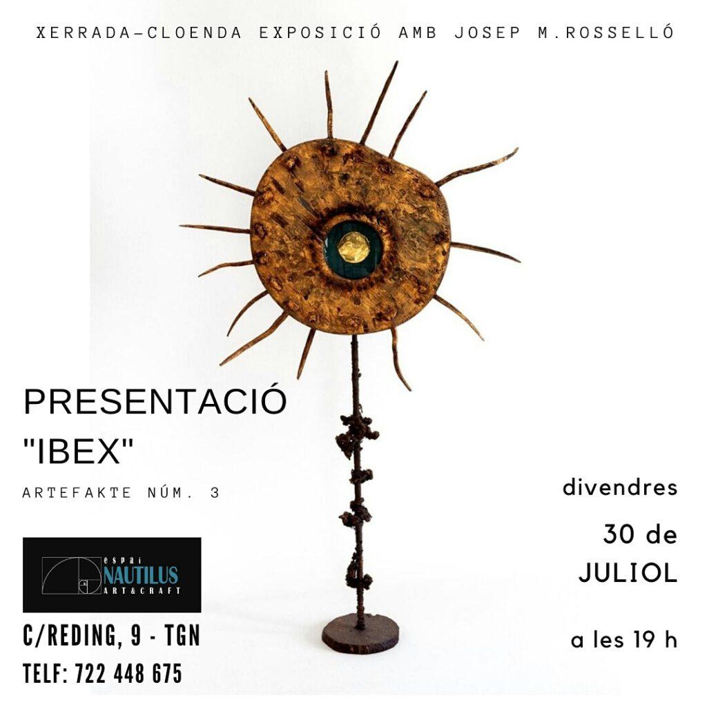 """PRESENTACIÓ-XERRADA """"IBEX"""""""