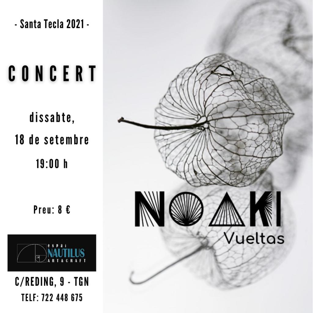CONCERT NOAKI (VUELTAS)