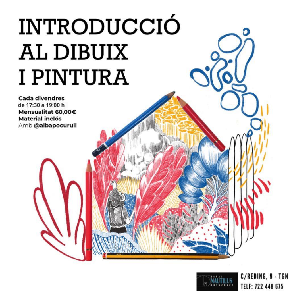 """TALLER INFANTIL """"INTRODUCCIÓ AL DIBUIX I PINTURA"""""""
