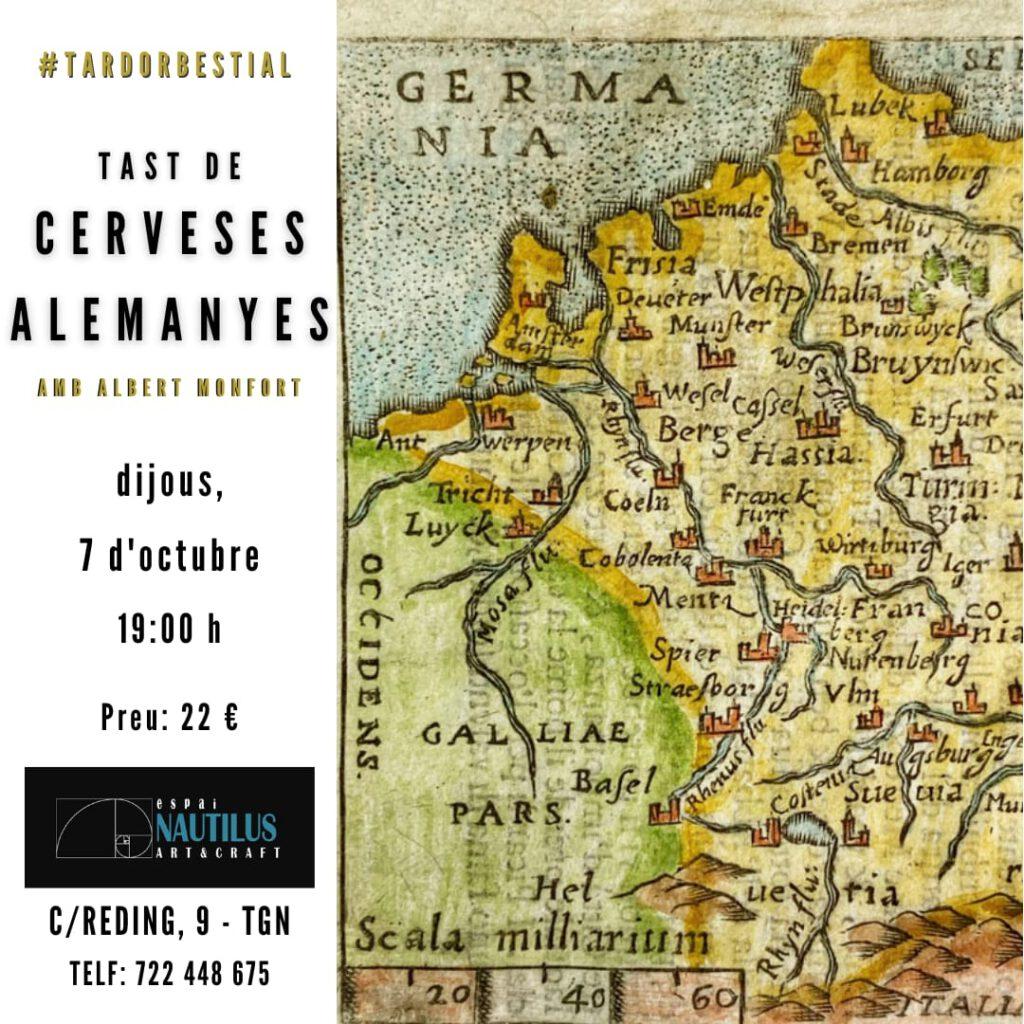 TAST DE CERVESES ALEMANYES