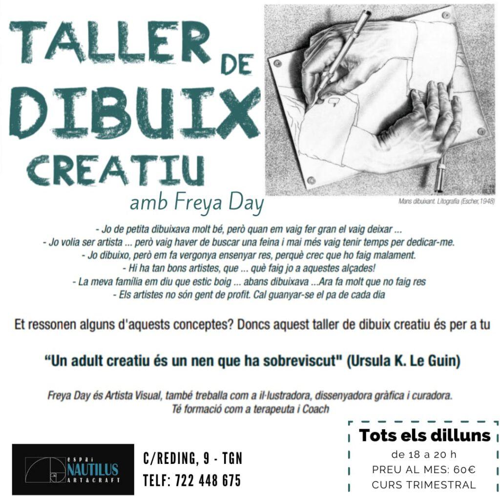 TALLER DE DIBUIX CREATIU