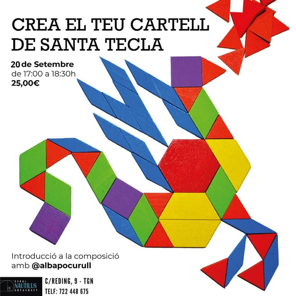 CREA EL TEU CARTELL DE SANTA TECLA
